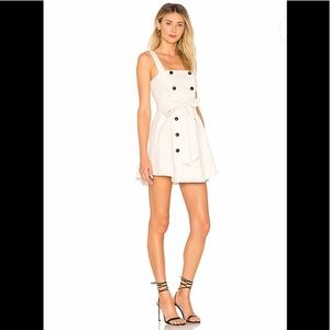 Lovers + Friends XRevolve NWT Rosanna Dress Ivory